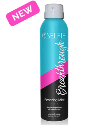 Breakthrough Bronzing Mist - Selfie
