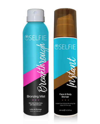 Breakthrough Bronzing Spray & Instant Body Bronzer Combo