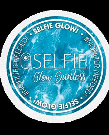Selfie Glow Beach Towel